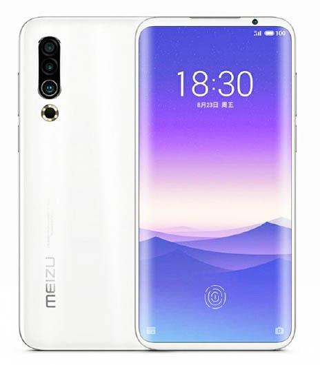Опубликован качественный рендер смартфона Meizu 16s Pro