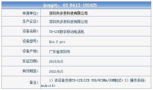 Qin 2 Pro