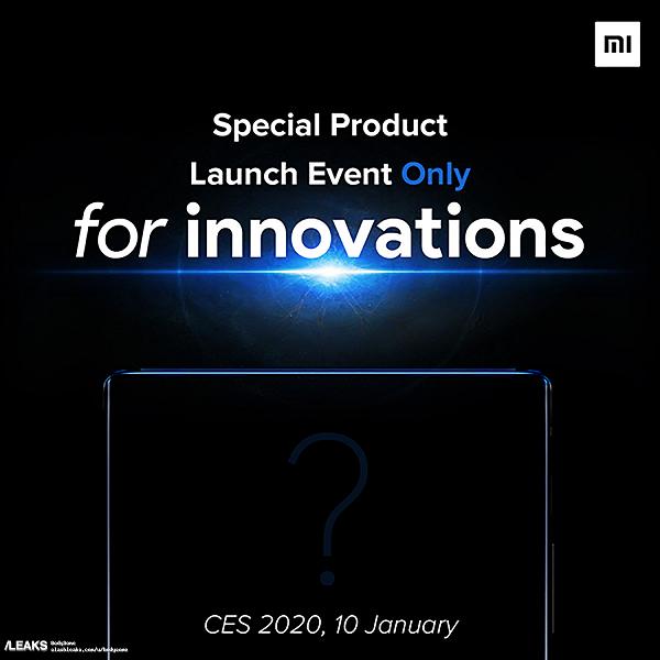 Xiaomi Mi Mix 4 будет представлен 10 января 2020 года